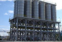 Cement warehouses